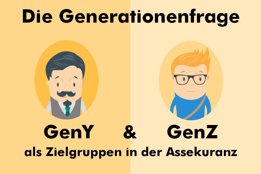 Generation Y und Generation Z für die Versicherungsbranche