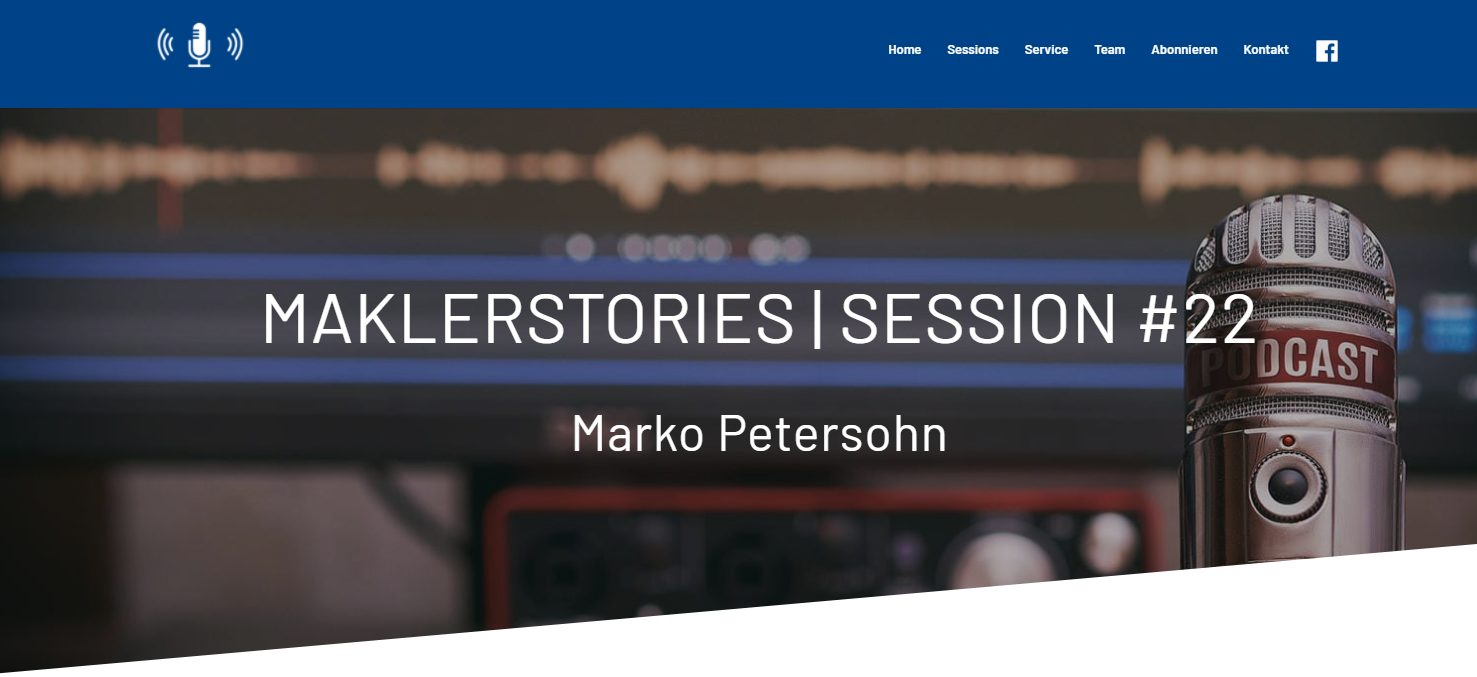 MaklerStories INTER MarKo Petersohn Gast im Podcast
