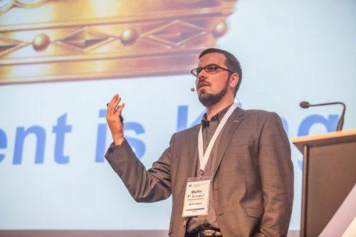 Sprecher auf der allfacebook-Konferenz